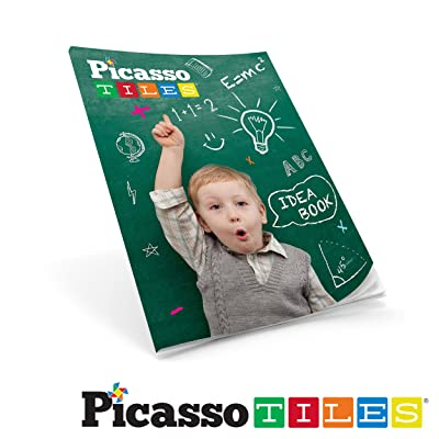 PicassoTiles Idea Book with 90+ Structure Idea: Toys & Games
