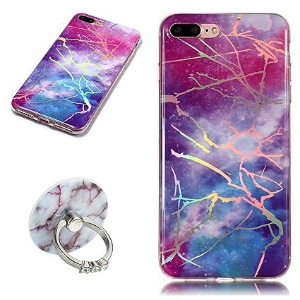 coque iphone 8 marbre anneau