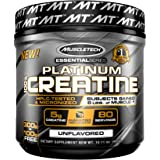 MuscleTech Platinum Creatine Monohydrate Powder, 100% Pure Micronized Creatine Powder, 14.1oz (80 Servings)