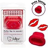 Fullips Lip Plumping Tool - Medium Oval Plus Large Round Bonus Self Suction Enhancers and Additional Gift!