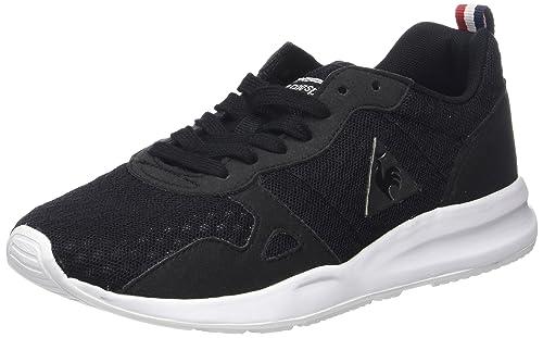 Le COQ Sportif LCS R600 Open Mesh, Zapatillas Unisex Adultos, Negro (Black Noir), 36 EU