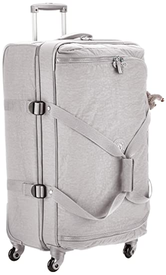 b8d40e4428 Amazon.com   Kipling CYRAH S Hand Luggage, 55 cm, 37.5 liters, Grey  (Clouded Sky)   Carry-Ons