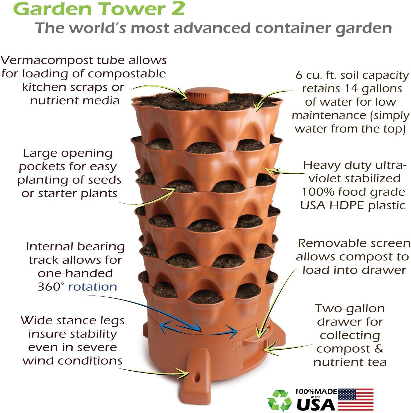 Jardín Tower 2 – Jardín de depósito de la Planta de 50 de ...