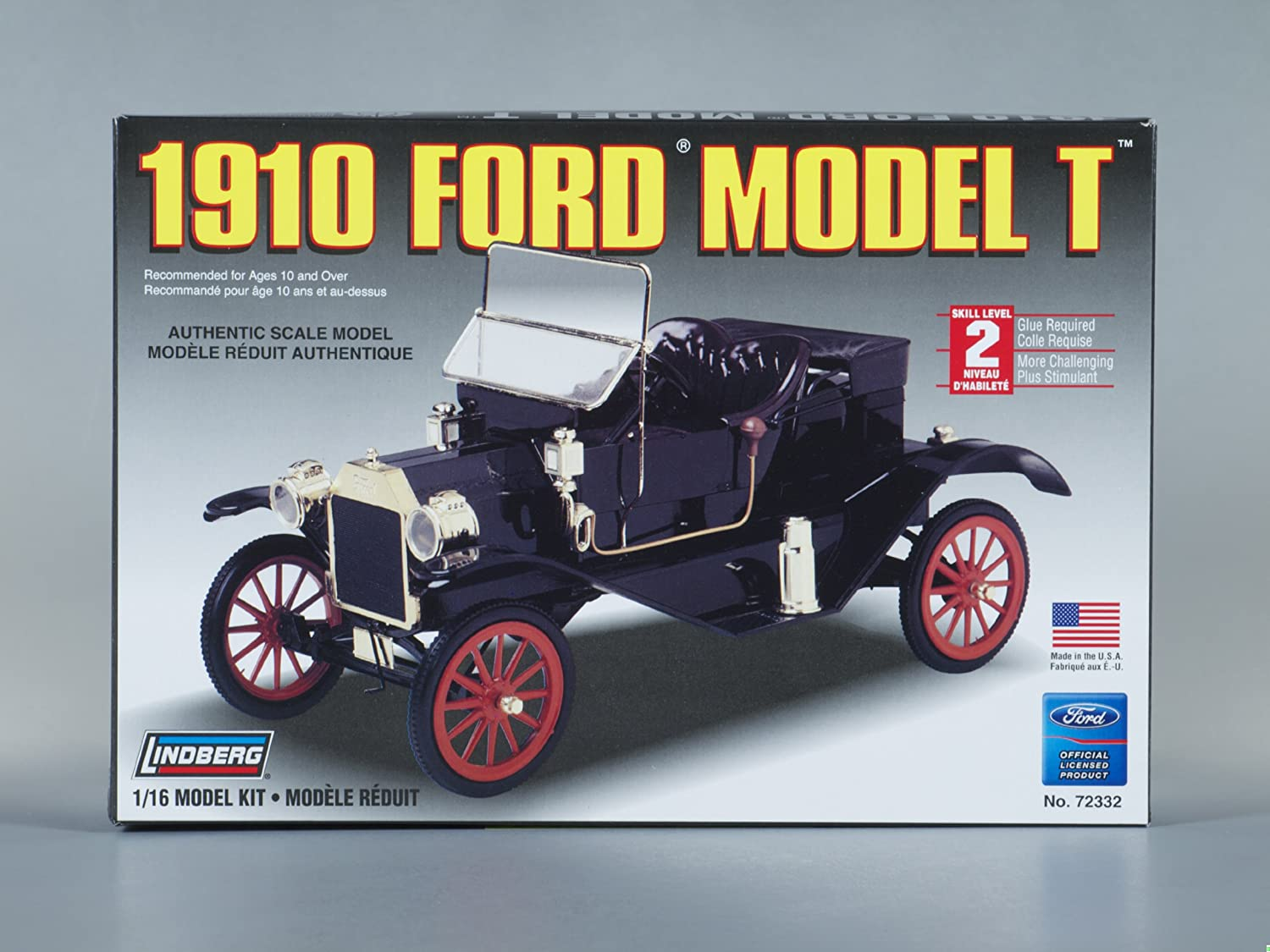 & Amazon.com: Lindberg 1:16 scale 1910 Ford Model