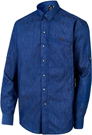 MONZA OBREROL Camisa De Trabajo Vaquera de Hombre Profesional/Comercial. Color Denim Azul. Ref: 2034: Amazon.es: Ropa y accesorios