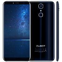 Cubot X18 (2017) Android 7.0 4G-LTE Dual Sim Smartphone ohne Vertrag, 5.7 Zoll (18:9) IPS HD Touch-Display, 3GB Ram+32GB interner Speicher, 16MP Hauptkamera / 13MP Frontkamera, Split Screen Mode Funktion, Fingerprint Sensor, 2.5D gebogener Bildschirm, nutzbares GPS, Benachrichtigungs-LED, Blau