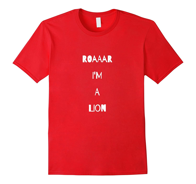Lion Roar Costume T Shirt King Animal Jungle Pride Cubs-ANZ