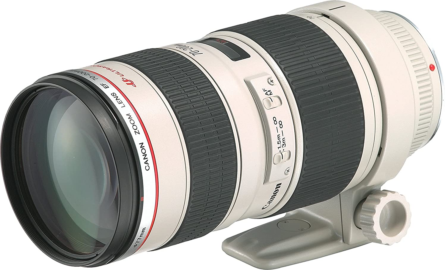 Canon EF 70-200mm f/2.8L USM Telephoto Zoom Lens for Canon DSLR Camera