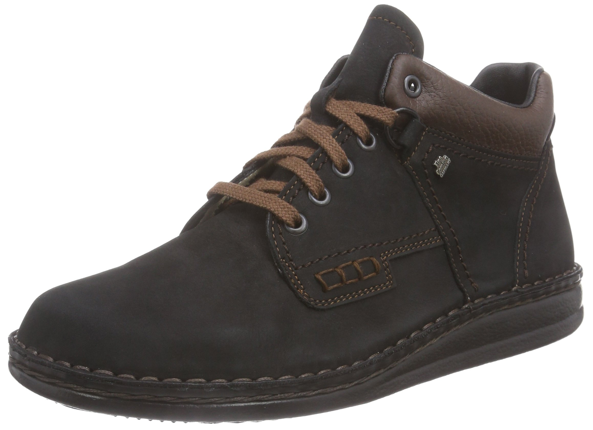Finn Comfort Unisex Linz Boot,Black/Brown/Nevada,38 EU (US Women's 7 M)