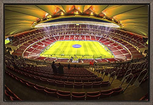 Cuadro enmarcado - Cuadro de el Estadio Wanda Metropolitano ...