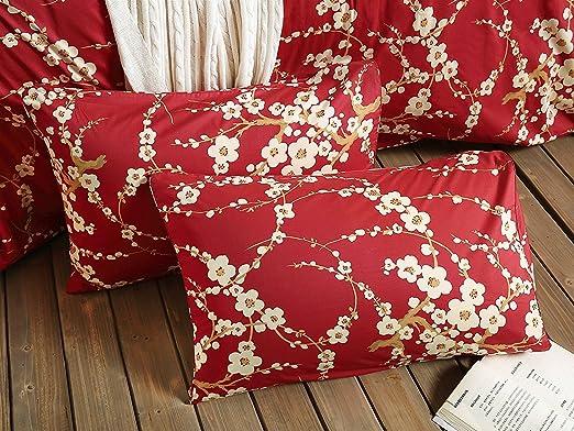 Amazon.com: Juego de cama de 3unidades, cobertor con ...