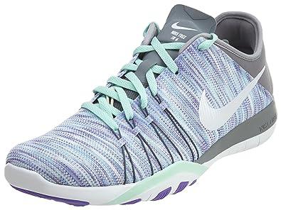 release date: 50921 bb727 Nike Womens Wmns Free TR 6 AMP, HYPER GRAPEWHITE-COOL GREY,