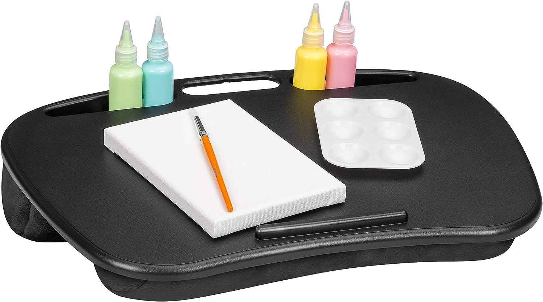 Rose Quartz Pack of 12 LapGear MyDesk Lap Desk with Device Ledge and Phone Holder