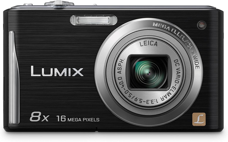 Panasonic Lumix Dmc Fs35eg K Digitalkamera 2 7 Zoll Kamera