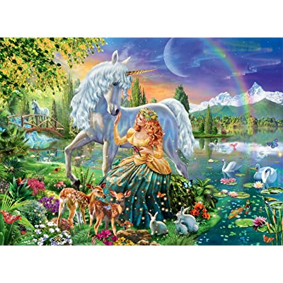 Ravensburger Gathering at Twilight 100 Piece Jigsaw Puzzle for Kids – Every Piece is Unique, Pieces Fit Together Perfectly: Toys & Games