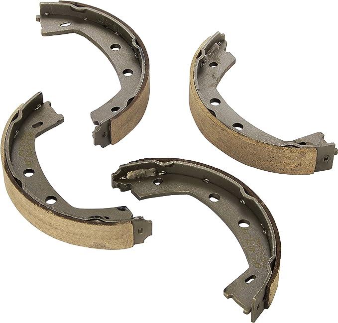 ACDelco 17937B Professional Bonded Rear Parking Brake Shoe Set