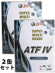 JDA スーパーマルチグレード ATF-IV 4L x2缶セット 全合成基油仕様 TOYOTA T-IV準拠 オートマチック トランスミッション フルード