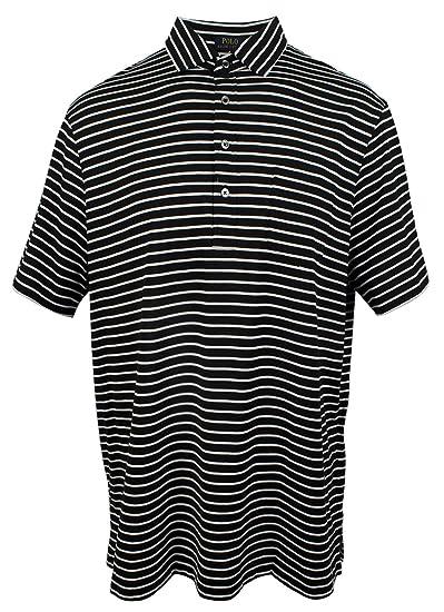 d0041de5a Polo Ralph Lauren Men s Hampton Striped Cotton Polo Shirt-PB-XXL at Amazon  Men s Clothing store