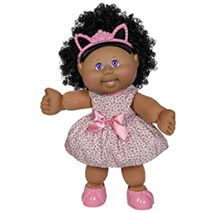 """Cabbage Patch Kids New 14"""" Kid Doll - Girl in Kitty Outfit"""