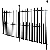 Amazon Com Panacea 87405 Scroll And Finial Border Fence