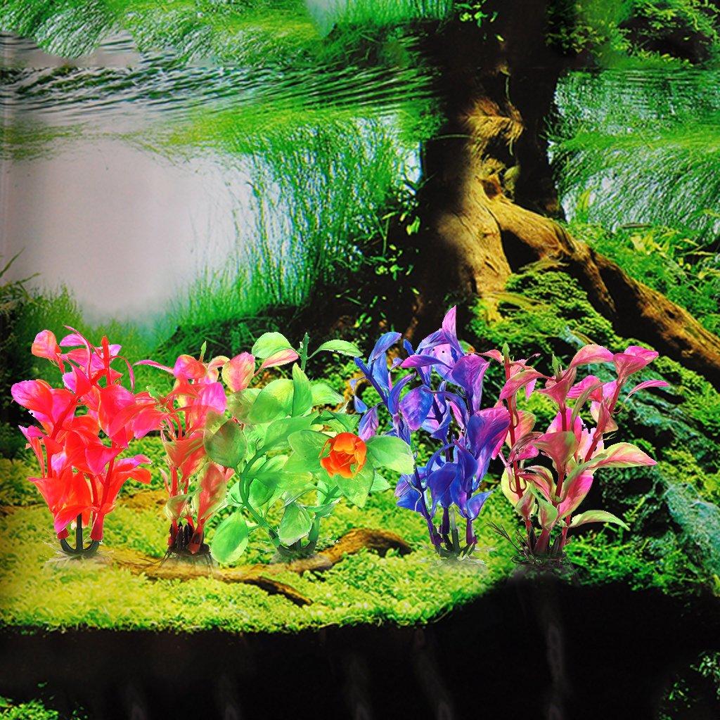 BouT 1 Pieza de Plantas Artificiales de simulación para decoración de Acuario, Hierbas de Agua, Ornamento de Planta: Amazon.es: Productos para mascotas