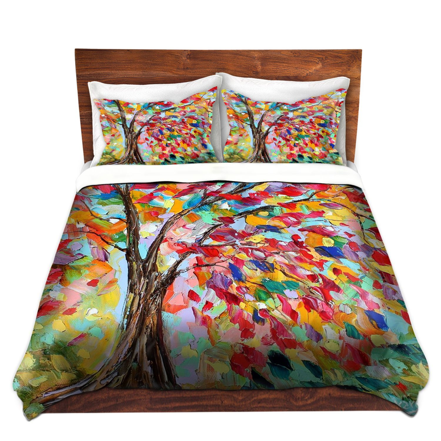 Bamboo comforters with more ease bedding with style - Look contemporary luxury bedding ...