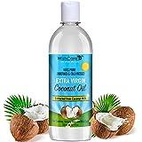 WishCare Premium Cold Pressed Extra-Virgin Coconut Oil - 500 ML