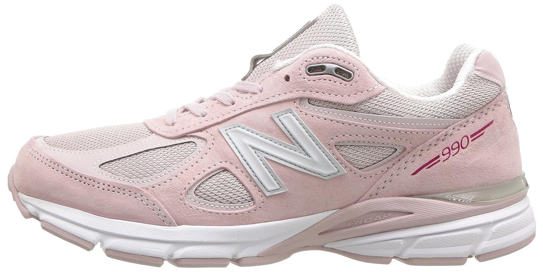 New Balance Women's 990v4 Running Shoe B07514FLJ6 11 B(M) US|Faded Rose/Komen Pink