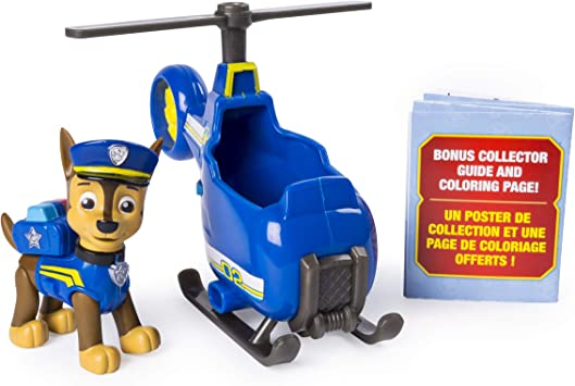 Ages 3 and Up Spin Master 20101379-6046665 PAW Patrol Ultimate Rescue Chases Mini Helicopter with Collectible Figure