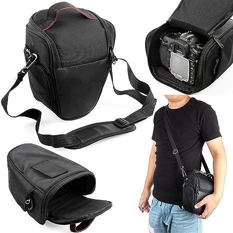 8814e8e673 Safekom Custodia/marsupio con tracolla per fotocamera digitale Reflex,  impermeabile, portatile, cerniera