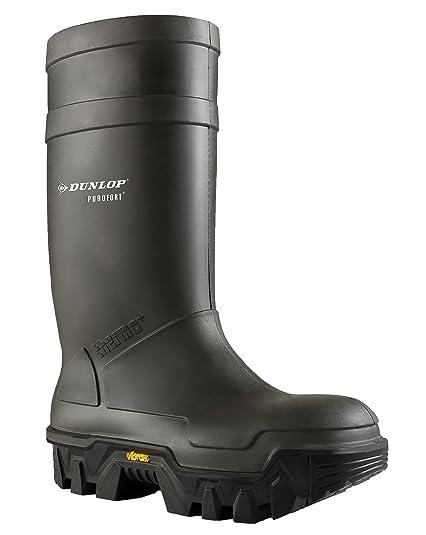 611ccb80299 Dunlop Mens Grey Purofort Explorer C922033.05 Full Safety Wellington Boots