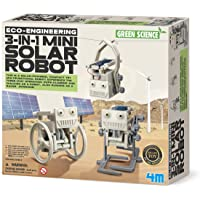 4M FSG3377 Eco Engineering 3 in 1 Mini Solar Robot