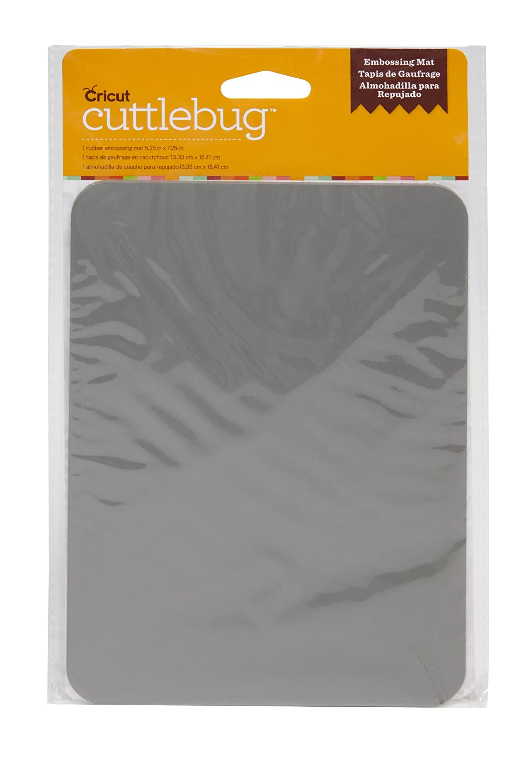 Amazon.com: Cuttlebug Cricut Cut and Emboss Dies, Rubber Embossing ...