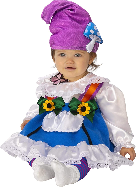 Rubie's baby girls Garden Gnome Girl Costumes, As Shown, Toddler US