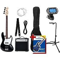 Rocktile Groovers Pack JB E-Bass Set III Black