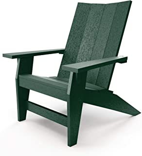 product image for Hatteras Hammocks Forest Green Adirondack Chair, Eco-Friendly Durawood, All Weather Resistance, Fit 'N' Finish Handcrafted in The USA