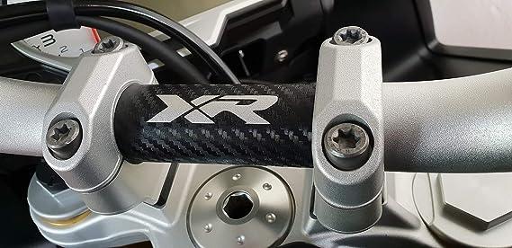Carbon Manillar Pegatina para protección de BMW S1000 XR: Amazon.es: Coche y moto