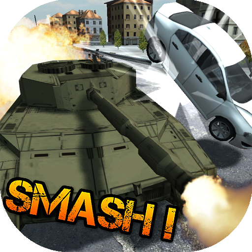 Tank Rushing on Road (Android Grand Theft Auto San Andreas Cheats)