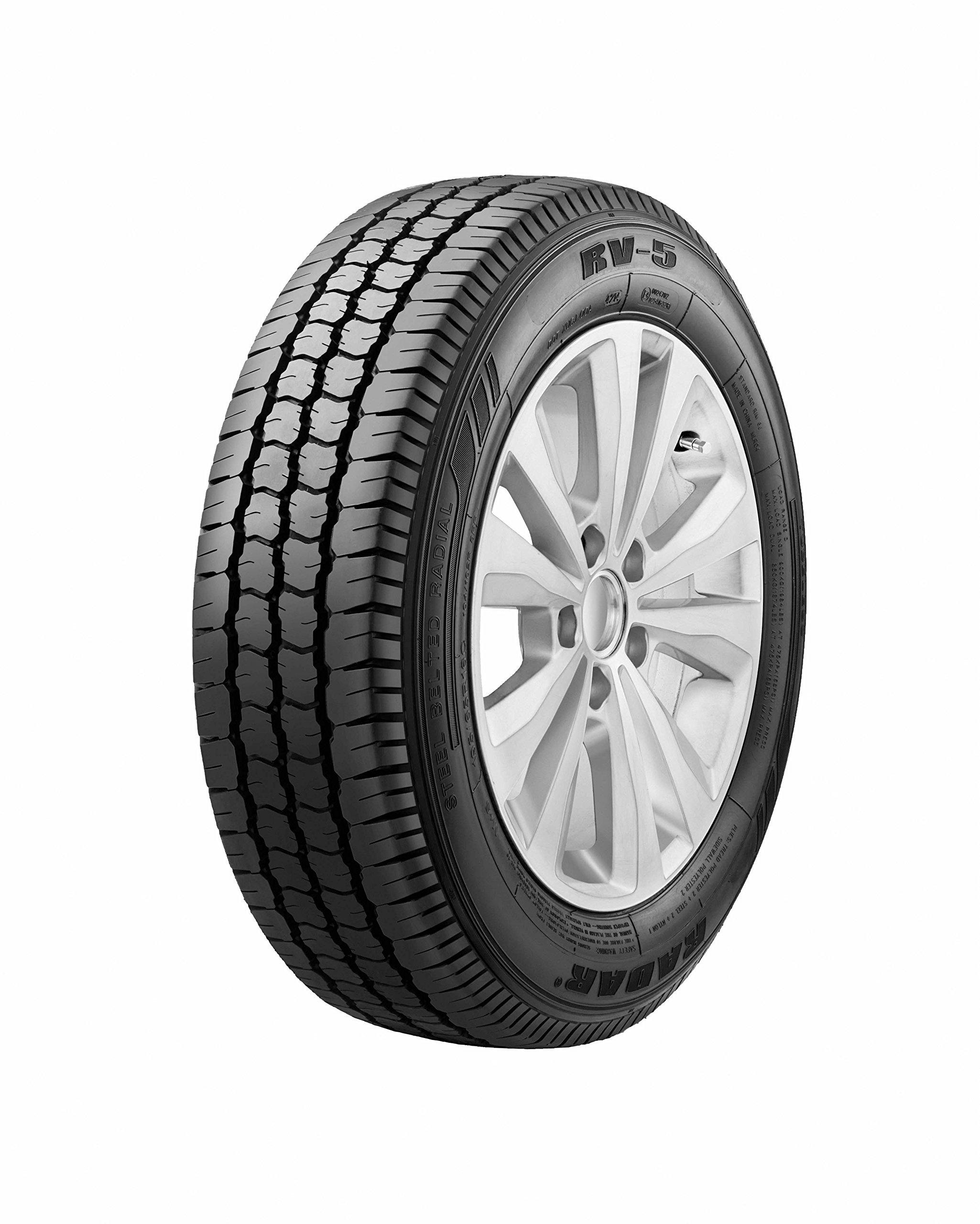 Radar Tires RV-5 Commercial Truck Tire - 195/75R16C 107R
