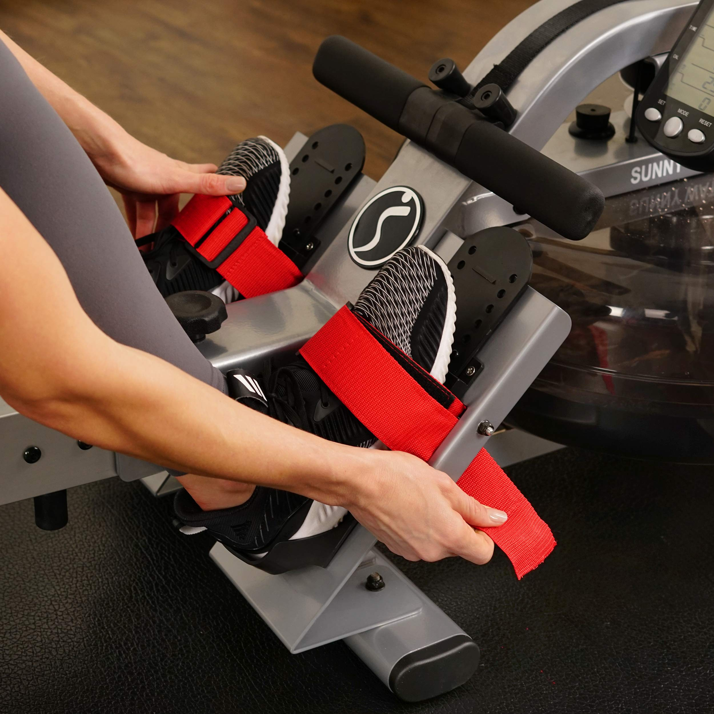 Sunny Health & Fitness Water Rowing Machine Rower w/LCD Monitor - SF-RW5866 by Sunny Health & Fitness (Image #14)