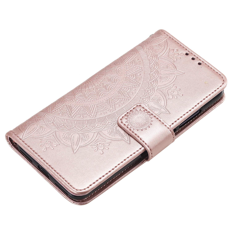 CC9 Portafoglio Docrax Custodia Xiaomi Mi 9 Lite DOHHA080541 Blu Cover in Pelle Funzione di Stand Slot per Schede Antiurto Leather Case Cover per Xiaomi Mi 9 Lite