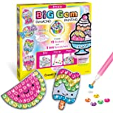 Creativity for Kids Big Gem Diamond Painting Kit - Create Your Own Sweets Stickers & Suncatchers - Diamond Art for Kids