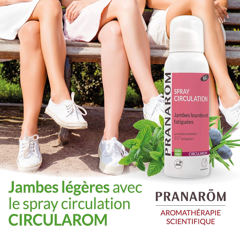 Pranarôm Spray Bio Circulation jambes lourdes 100ml: Amazon.es: Salud y cuidado personal