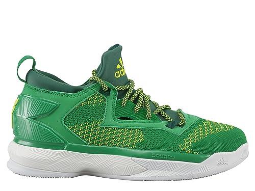 new arrivals b4267 c95f8 adidas D Lillard 2 PK, Scarpe da Basket Uomo, Verde (Verde (Verde