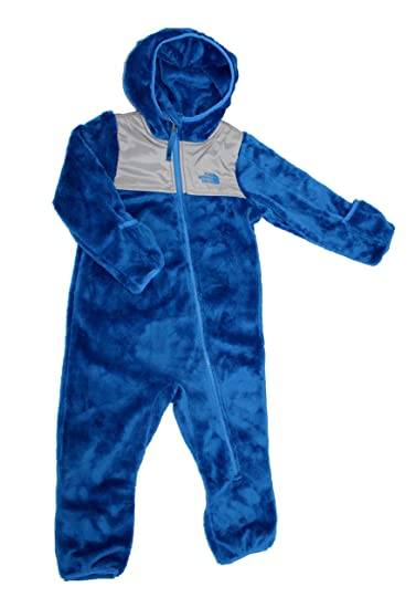 9a793698828a Amazon.com  The North Face Infant Kids Oso One-Piece Jake Blue (18 ...