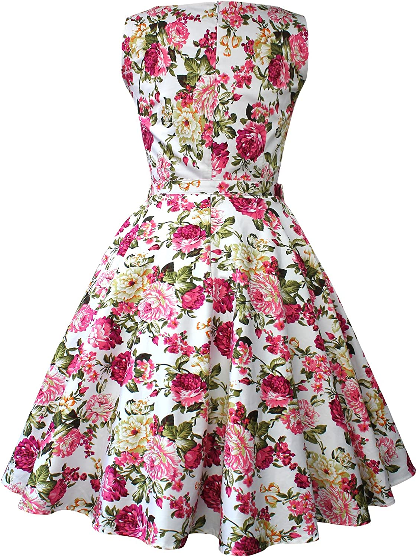 BlackButterfly Audrey Divinity Vintage Rockabilly Floral 1950s Dress