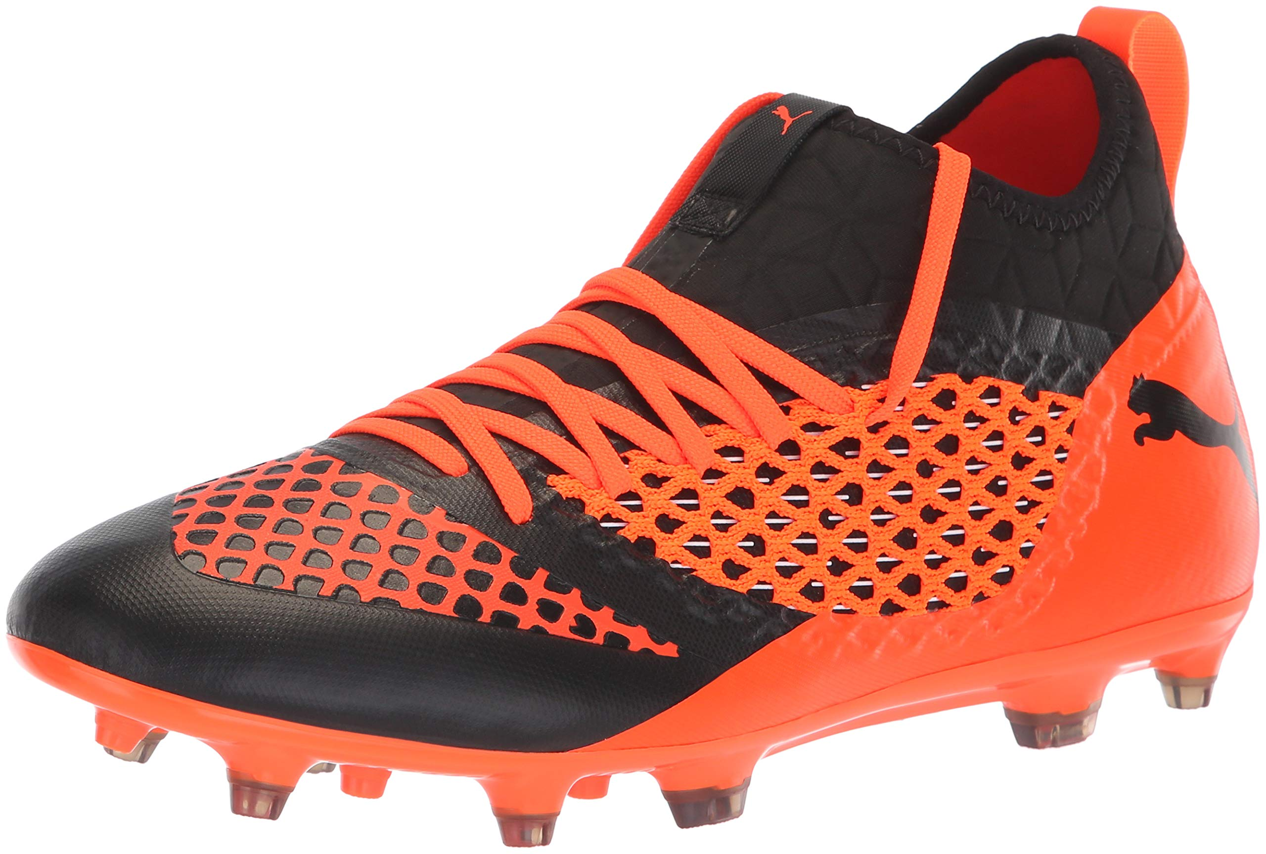 1ffe7f22 Details about PUMA Men's (12)-Future 2.3 Netfit FG/AG Soccer Shoe,  Black-Shocking Orange, 1..