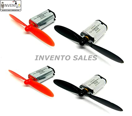 Buy Invento N30 37 V 25000 Rpm Mini Drone Dc Motor With 55 M