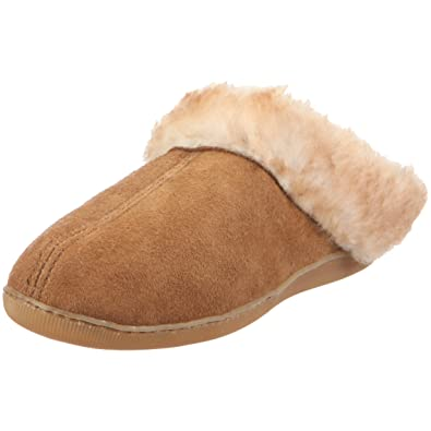 0e4ab5f280319 Minnetonka Women s Sheepskin Mule Slipper