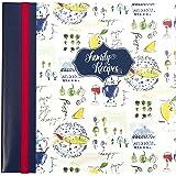 C.R. Gibson Family Recipe Memory Book, Provence, Multicolor